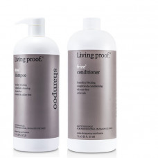 Living Proof No Frizz Shampoo & Conditioner Salon Set