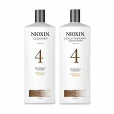 Nioxin 1000ml/1L System 4 Shampoo & Conditioner Set