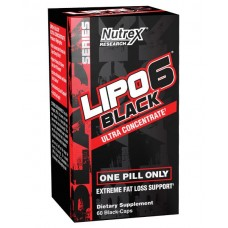 Nutrex Lipo 6 Black Ultra Concentrate (60 Capsules)