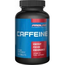 Prolab Nutrition Caffeine 200mg 100 Tablets Fat Burner