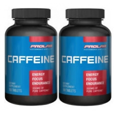 2 x Prolab Nutrition Caffeine 200mg Fat Burner Tablets
