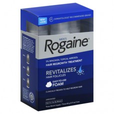 Rogaine/Regaine Foam Men's Minoxidil 5% 3 Month Supply