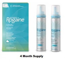 Rogaine/Regaine For Women Minoxidil 5% Foam 4 Month Supply